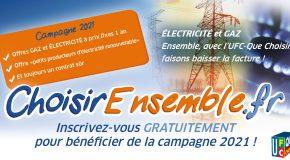 Campagne Énergie moins chère ensemble 2021